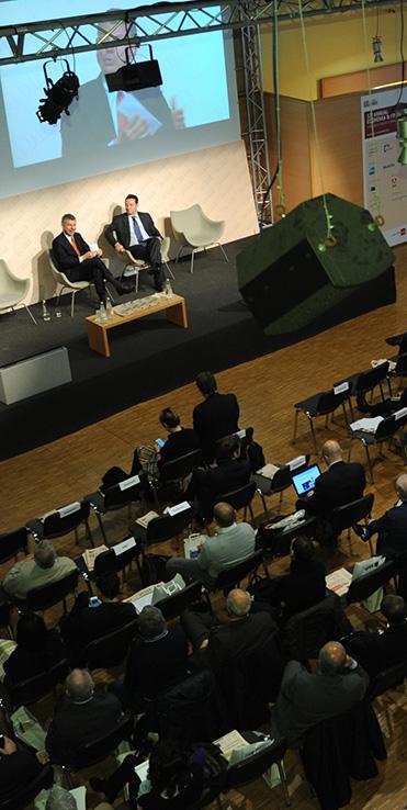 Emilio Petrone, Amministratore Delegato di Sisal Group, a dialogo con Alessandro Plateroti, Vice Direttore de Il Sole24ORE