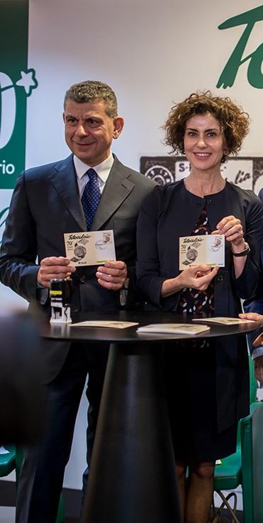 Totocalcio compie 70 anni. L'anniversario celebrato con l'emissione di un francobollo dedicato alla storica schedina.